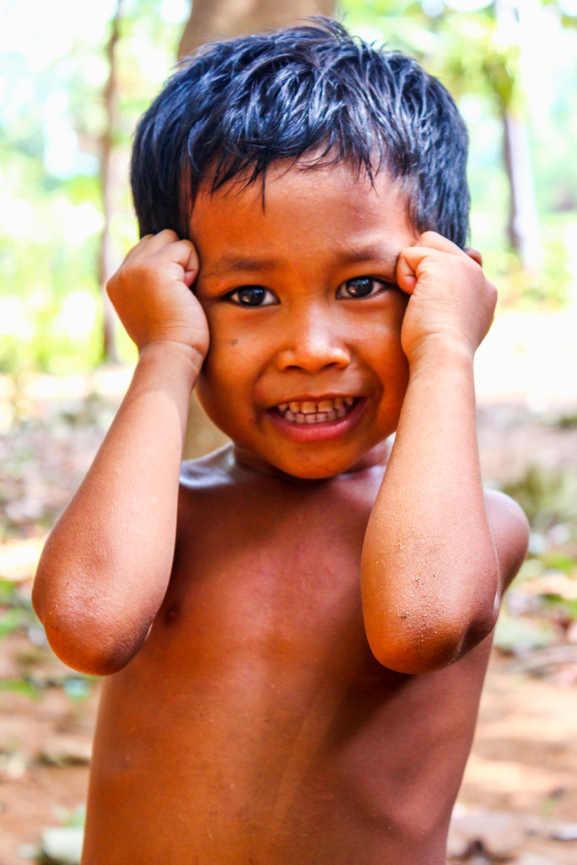 Cambodian Villager