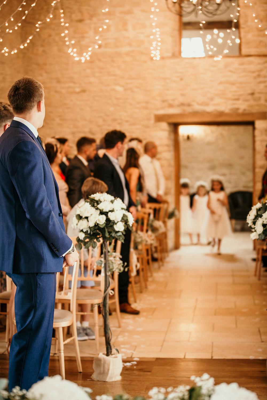 the cotswolds, wedding, venue, kingscote, barn, gloucester, cheltenham, best, photographer, photography, rustic, alternative, neil, williams, decor, flower girls,