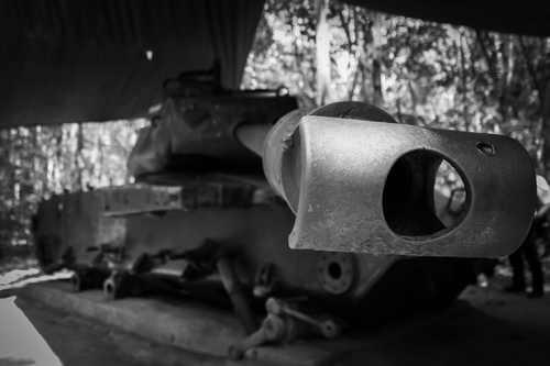 US Army Tank - Cu Chi Tunnels, Vietnam