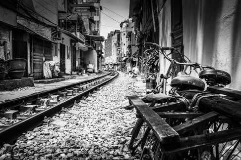 Railway Track - Hanoi, Vietnam