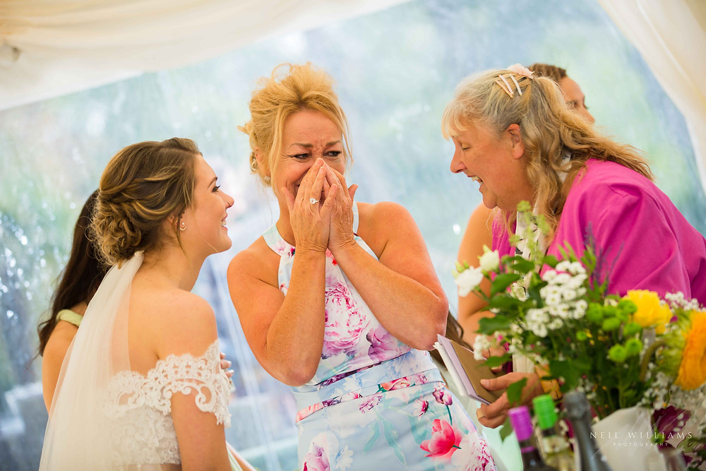 pembrokeshire photographer, neil williams photography, outdoor wedding, hilton court, happy couple, summer wedding, best welsh wedding photographer, wedding, guests, mother of the bride, outdoor ceremony, bride & groom, south wales wedding photographer, white bride narbeth, emotion