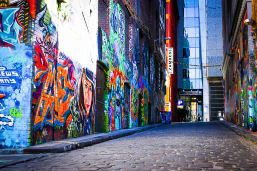 Hosier Lane - Melbourne, Australia