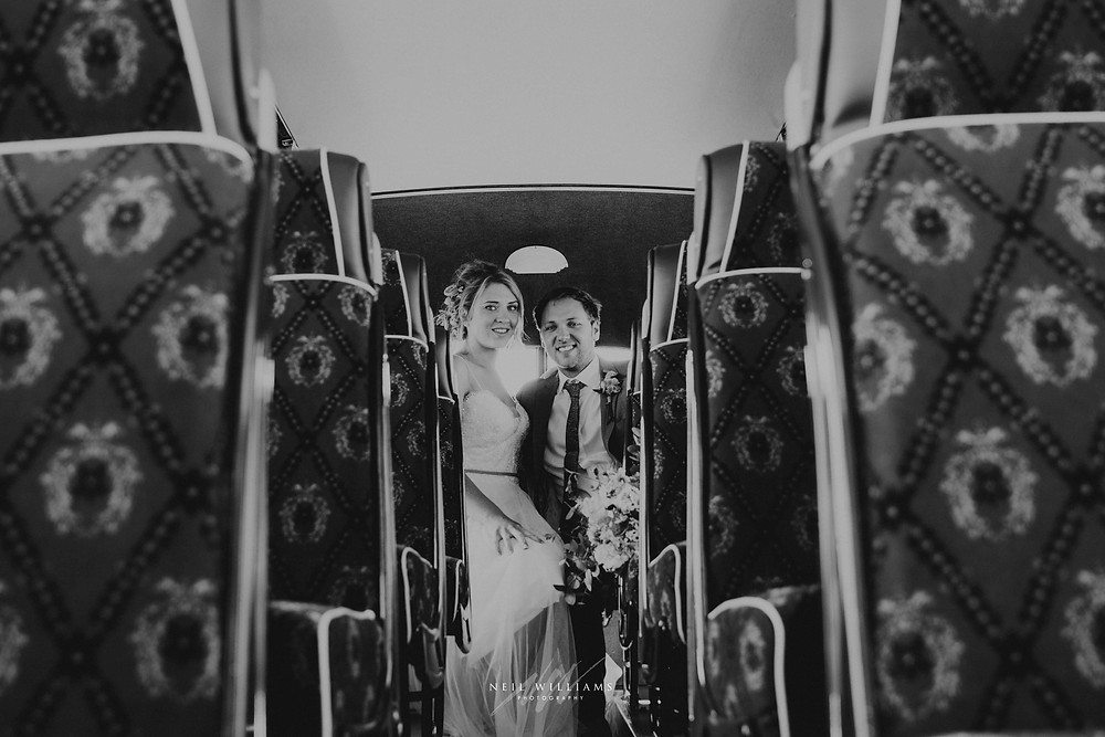 pembrokeshire, wedding, photography, neil, williams, south wales photographer, cardiff, swansea, carmarthen, bristol, cotswolds, llys meddyg, rustic, alternative, boho, vintage bus, wedding transport, richards bros, van kampers, couple portrait,