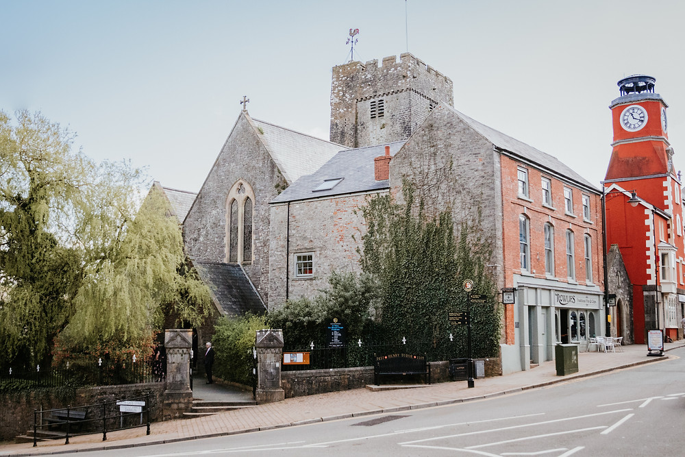 St. Mary's Church, Pembroke Town, Wedding Photography