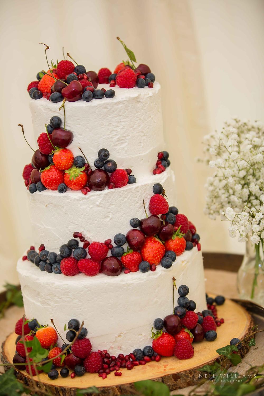 vegan cake, wedding, pembrokeshire