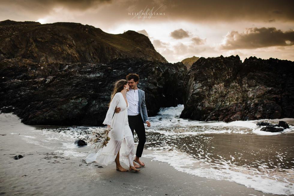 Beach Elopement Photographer
