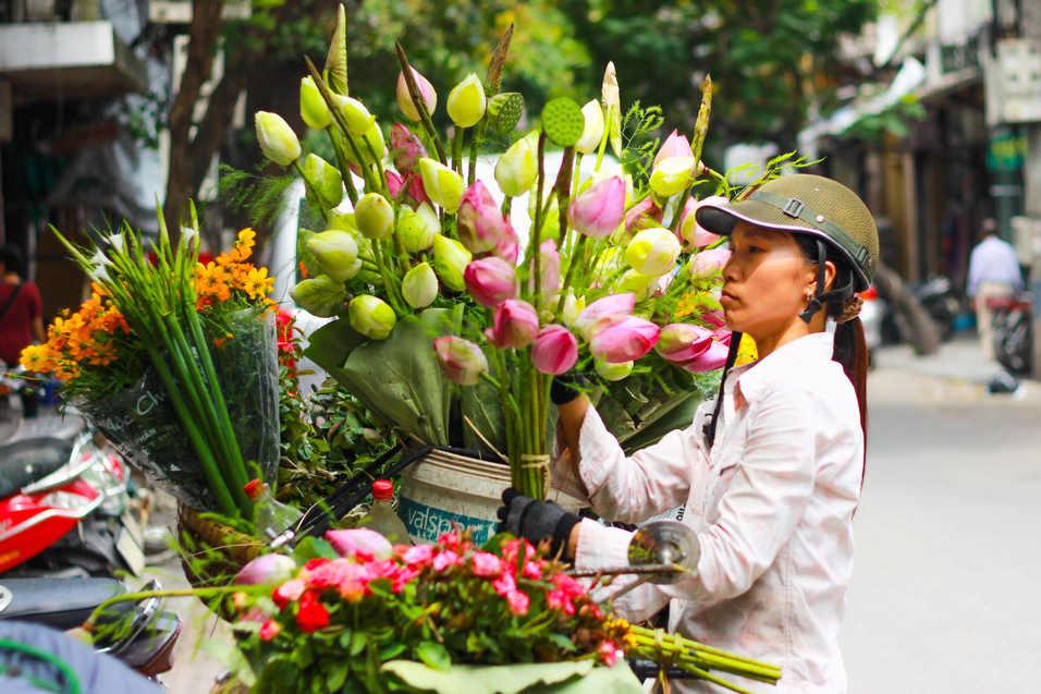 Flower Trader - Vietnam