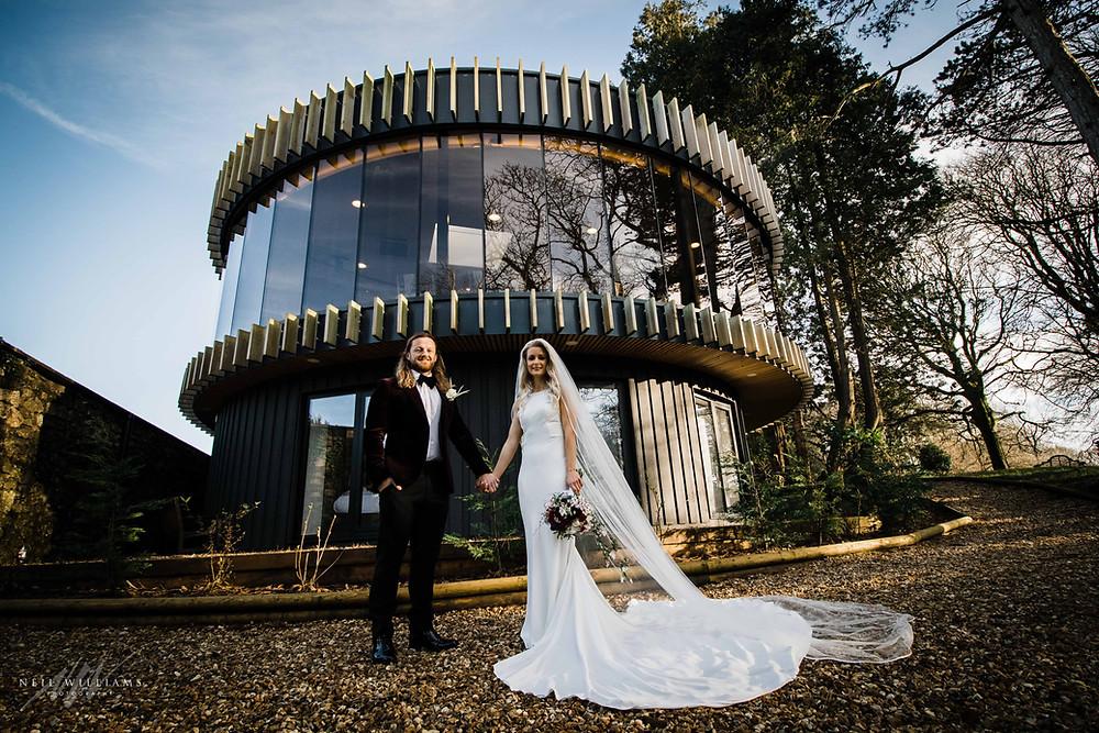 k room, fairyhill, wedding, bride and groom, oldwalls, neil williams photography