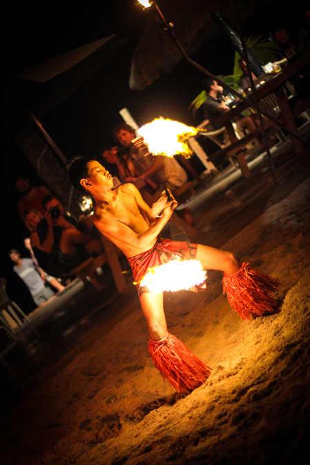 Fijian Fire Dancer
