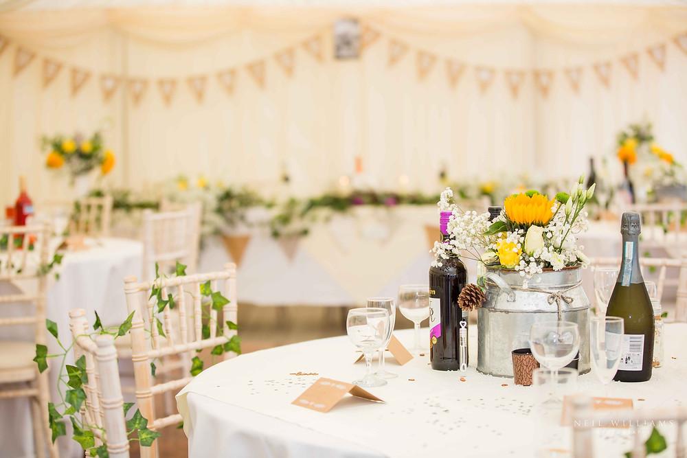 pembrokeshire, neil williams photography, outdoor wedding, hilton court, happy couple, summer wedding, best welsh wedding photographer, wedding, guests,  decor