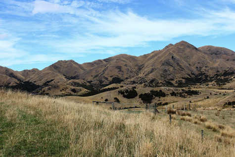 New Zealand Mountain Range