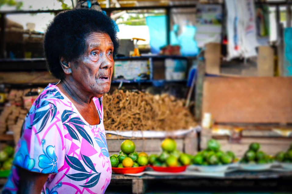 Fijian Market Trader
