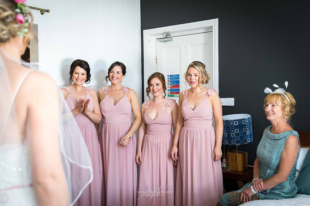 pembrokeshire, wedding, photography, neil, williams, south wales photographer, cardiff, swansea, carmarthen, bristol, cotswolds, llys meddyg, rustic, alternative, boho, bridesmaids