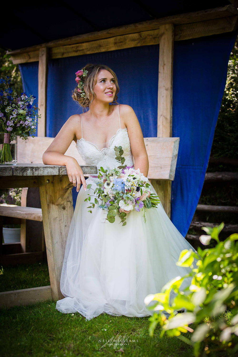pembrokeshire, wedding, photography, neil, williams, south wales photographer, cardiff, swansea, carmarthen, bristol, cotswolds, llys meddyg, rustic, alternative, boho, bridal portrait,
