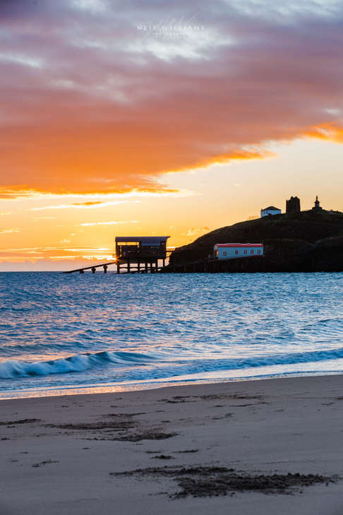 Tenby Lifeboat Sunrise