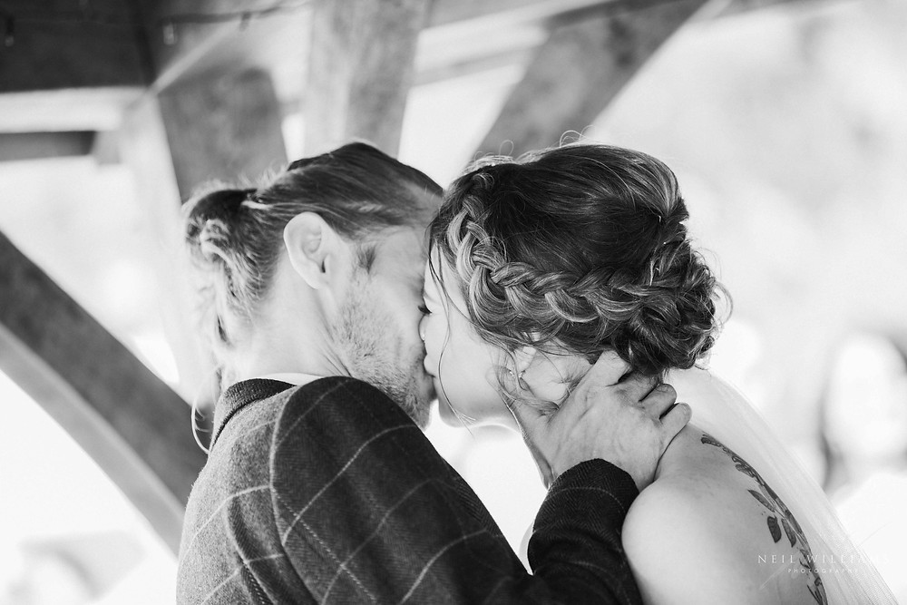 pembrokeshire photographer, neil williams photography, outdoor wedding, hilton court, happy couple, summer wedding, best welsh wedding photographer, wedding, guests, mother of the bride, outdoor ceremony, bride & groom, south wales wedding photographer, first kiss