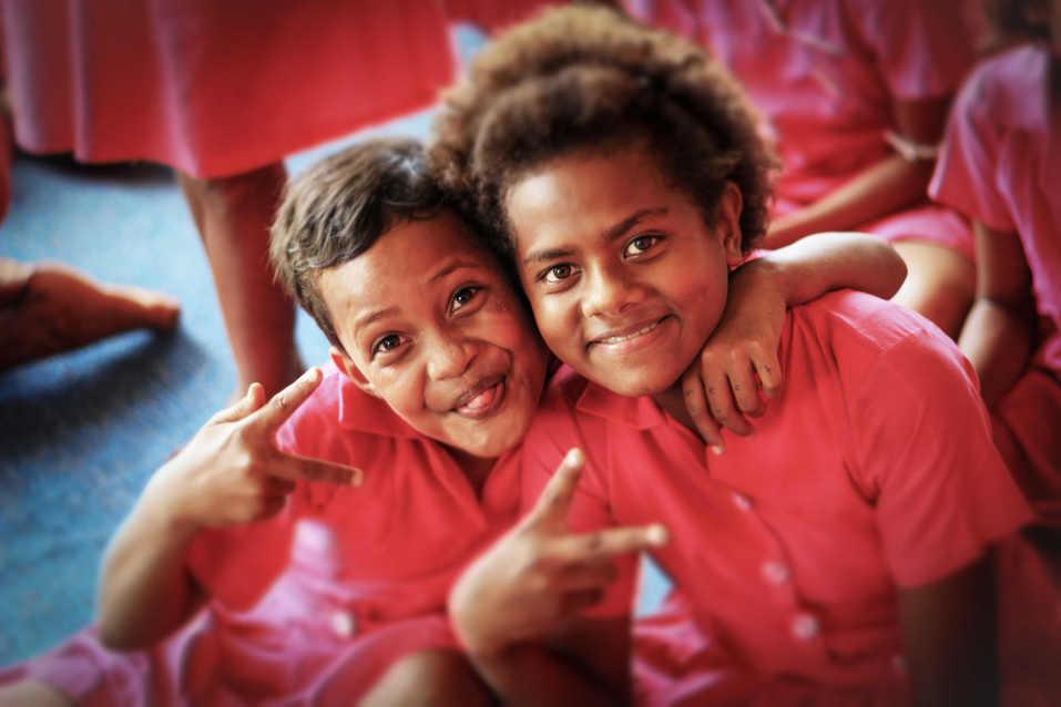 Fijian Schoolgirls