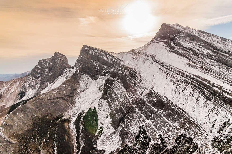 Three Sisters Peaks - Alberta, Canada