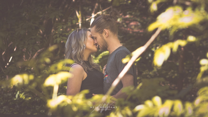 Mia & Muzz - Engagement Photoshoot, Hilton Court Gardens, Roch, Haverfordwest