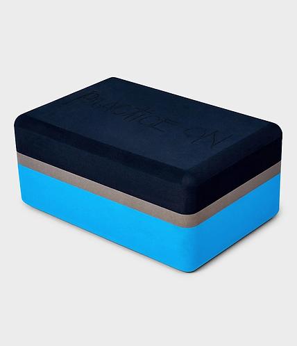 Yogablok Manduka blauw