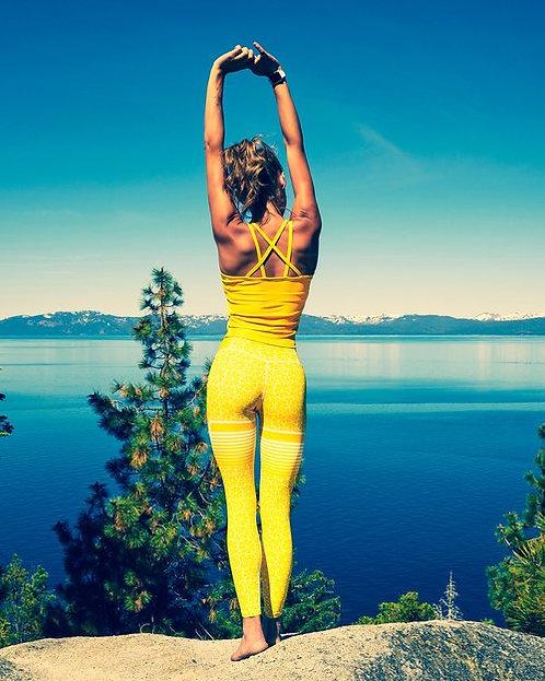 High waist legging Gavelo lemon
