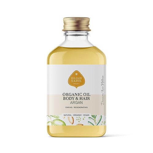 Bio argan olie body & hair