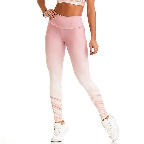 High waist legging pink Cajubrasil