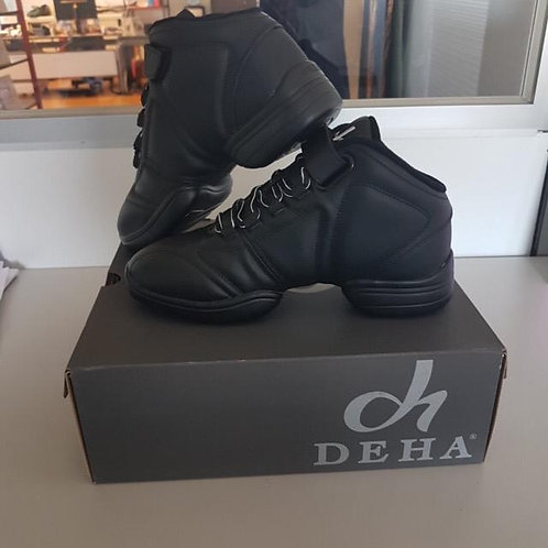 Dans sneakers leder
