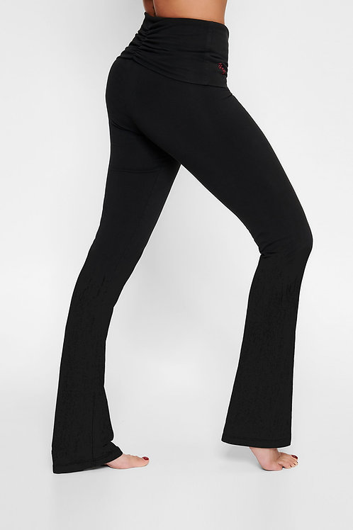 Flared Yogapants black