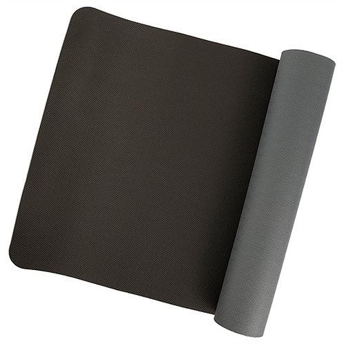 Yogamat zwart/grijs