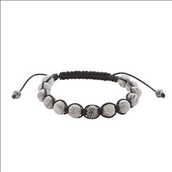 Mala armband grijs