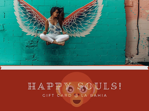 Cadeau bon Happy Souls