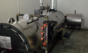 Caldero horizontal Gas Omatt Peru