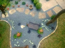 Black Star Gravel aerial view