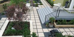 Arial view Zen Garden