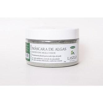 MÁSCARA DE ALGAS COM ARGILA VERDE 200g