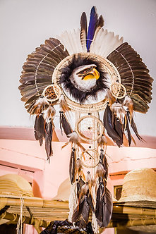 Cocar tribal Etnia Fulni-ô