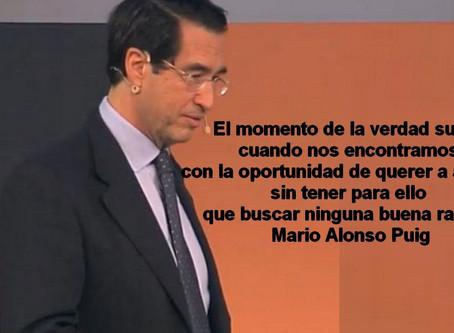 """Dr. Mario Alonso Puig, cuando el """"coacher"""" hace las cosas con corazón. (Vídeo)"""