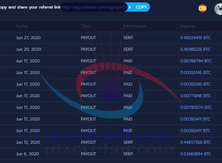 Beneficios de Junio 2020 de un cliente Arbistar 2.0 con el Community Bot