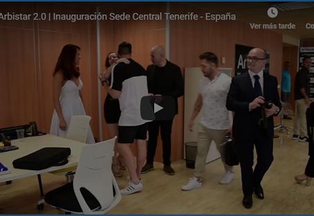 Arbistar 2.0: Inauguración de Sede Central en España.