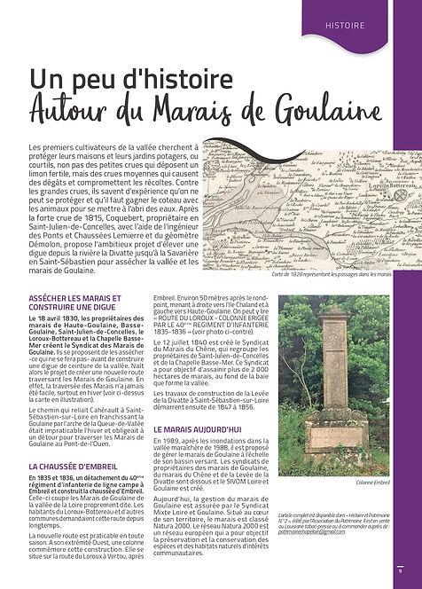 Extrait N°20 Autour du Marais de Goulain
