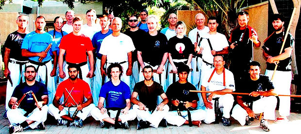 Some of The International Budo Academy Graduates and Students