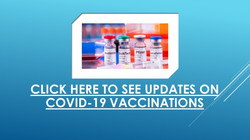 See Updates re Covid Vacc