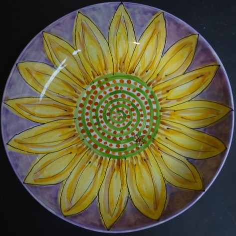 Sunflower bowl