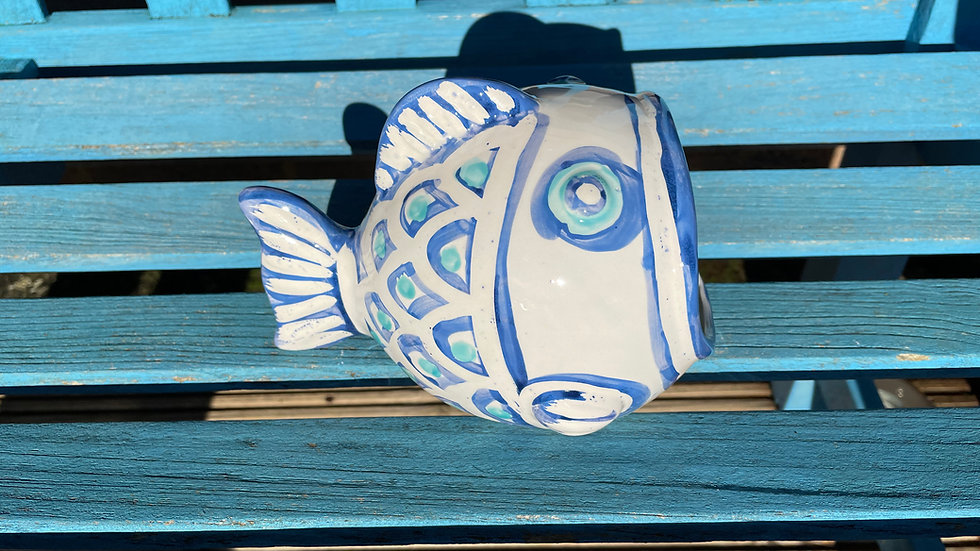 Fishy scourer holder