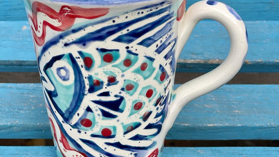 Single fish mug
