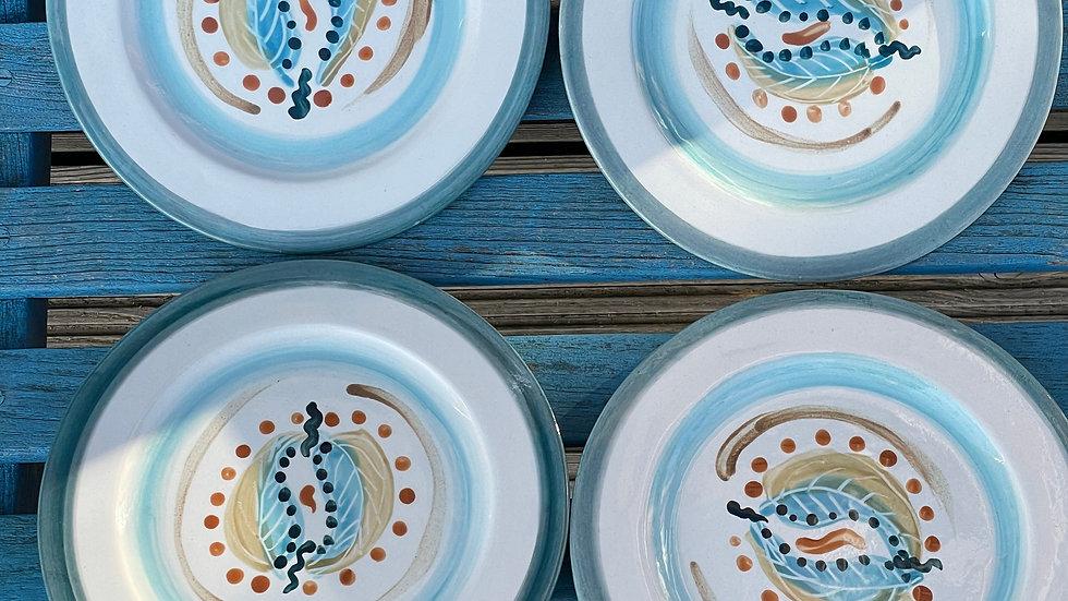 Tea plates