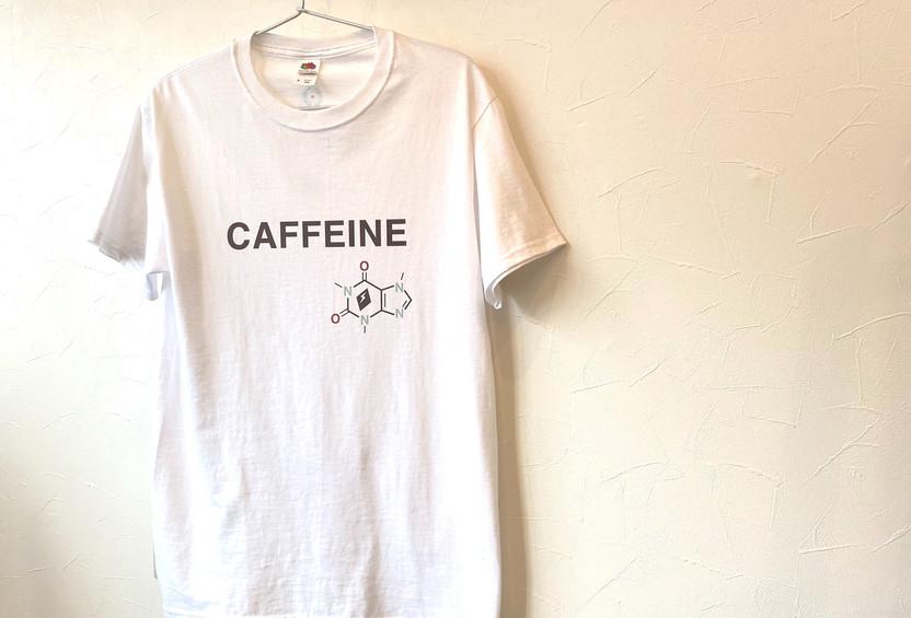 スパークコーヒーオリジナルT シャツ「CAFFEINE」