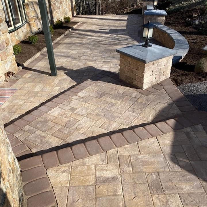 Walls, Lights, Steps, Patio, Walkways, Pavers