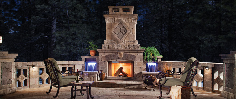 Fireplaces & Pits, Landscape Lighting